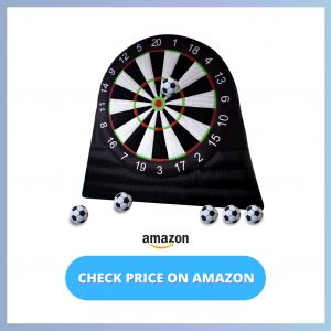 ANNATTO Outdoor Inflatable Soccer Darts Board reviews