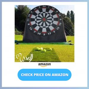 self Outdoor Inflatable Soccer Darts Board reviews