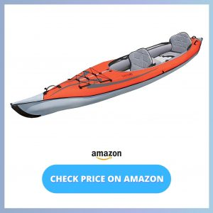 Advanced Elements AdvancedFrame Convertible Inflatable Kayak reviews and user guide