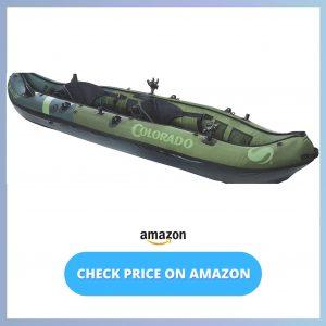Sevylor Coleman Colorado 2-Person Fishing Kayak reviews and user guide
