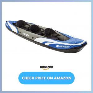 Sevylor Big Basin 3-Person Kayak reviews and user guide