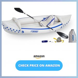 Sea Eagle SE330 Inflatable Sports Kayak Pro Solo Package reviews and user guide