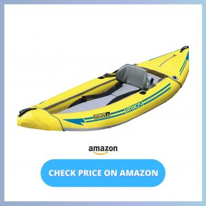 ADVANCED ELEMENTS Attack Whitewater Inflatable Kayak reviews and user guide