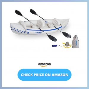 Sea Eagle 330 Deluxe 2 Person Inflatable Sport Kayak reviews and user guide