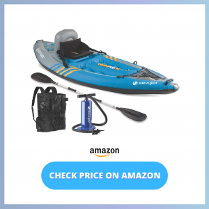 Sevylor Quikpak K1 1-Person Kayak reviews and user guide