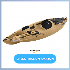 Sun Dolphin Journey 10-Foot Sit-on-top Fishing Kayak reviews and user guide