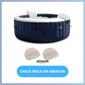Intex PureSpa Plus 6-Person Inflatable Hot Tub