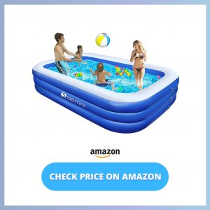 semai Family Inflatable Swimming Pool