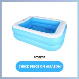 CHICLIST Inflatable Swimming Pool