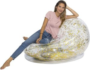 Air Candy Inflatable Glitter BloChair