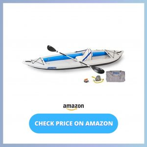 _Sea Eagle 385FT FastTrack Deluxe Solo Inflatable Kayak