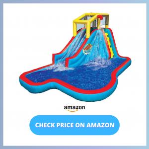 BANZAI Slide N Soak Splash Park Inflatable