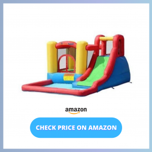 Bounceland Jump and Splash Inflatable water park