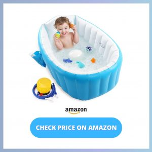 Intime Inflatable Baby Bath Tubs